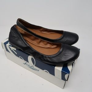 NEW Womens Lucky Brand Black Flats SIZE 8.5